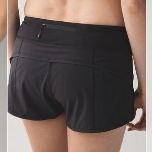 Lululemon Speed Short *4-way Stretch shorts size 6